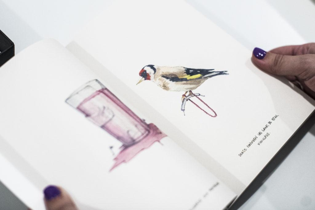 Detalle con obras del libro Los Doscientos realizado por Manuel Antonio Dominguez