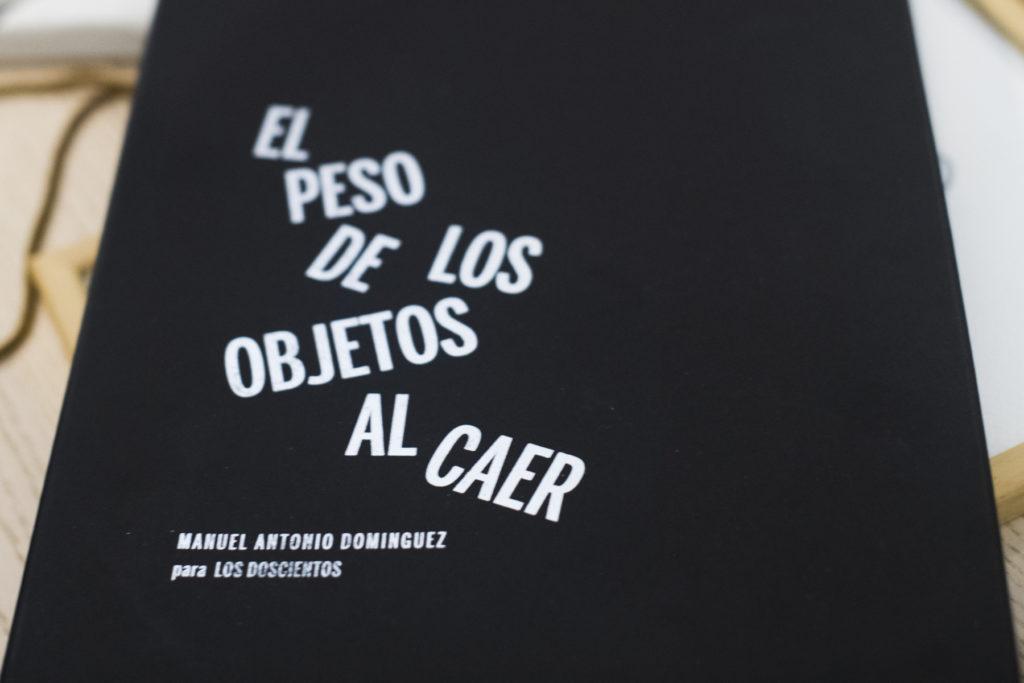 Portada del libro los doscientos con 200 obras de Manuel Antonio Dominguez